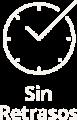 Sin retraso icon